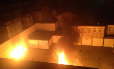 Skip Goes Up In Flames In Arson Attack
