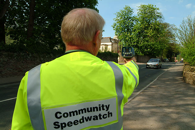 Community teams help catch over 30,000 drivers speeding in 12 months