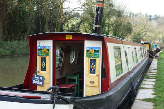 New Narrowboat Cafe Opens Along K Amp A Canal Now Bath
