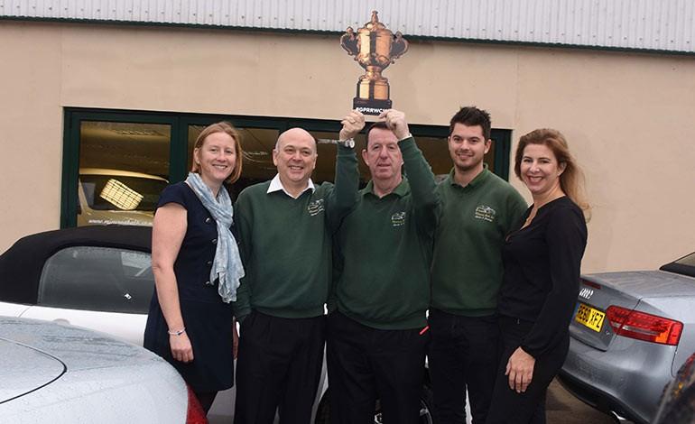 Bath businesses raise £2,880 for Bath Rugby Foundation charity
