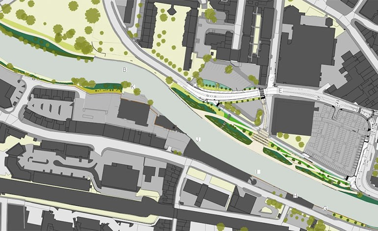 New road system for Bath Quays Waterside project set to go live