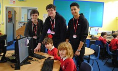 College students help teach next generation of computer programmers