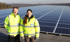 Wessex Water installs solar panels to help power Clarverton Down offices