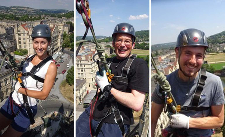 Genesis Trust teams up with Bath Abbey for 'Leap of Faith!' fundraiser