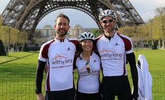 Withy King's 230 mile Bath to Paris charity cycle ride raises over £5.5k