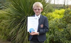 KES pupil congratulated after winning Young Crime Writers' Competition