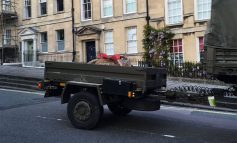 Unexploded Bath bomb safely removed and sent for controlled explosion
