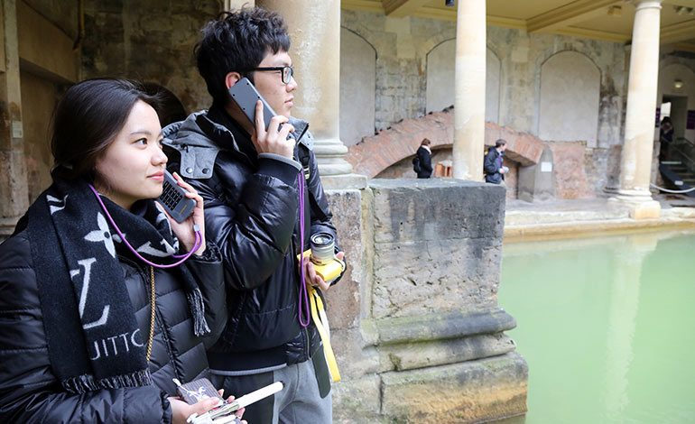 Roman Baths and Fashion Museum launch audioguides in four new languages