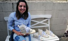 Bath College student creates shoes to challenge stereotypes as final project