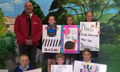 Farmborough pupils urge local drivers to slow down and keep children safe