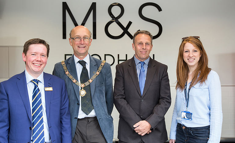 New m s foodhall in bath announces support for trauma for Bathroom of the year 2016