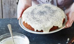 Riverford Recipe | Courgette, lemon and poppy seed cake