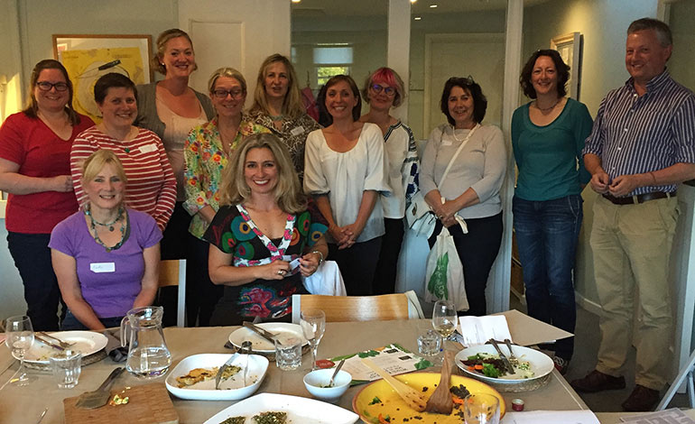 Riverford bath celebrates fitness at demuths cookery for Demuths bath