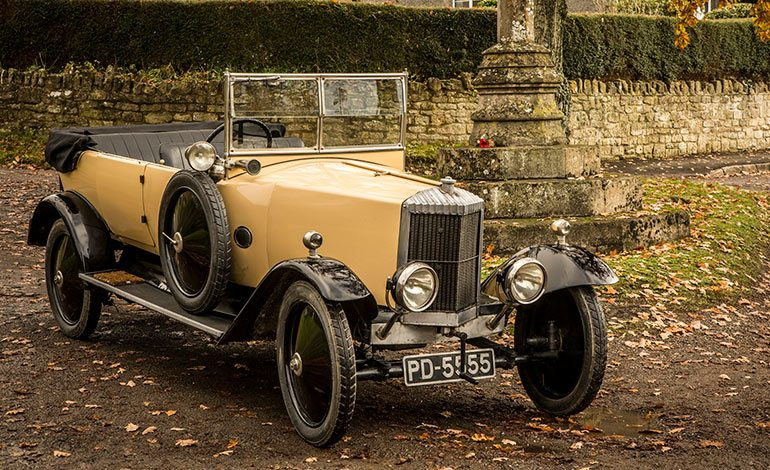 One Of The Last Surviving Cars Built In Bath During The 1920s To