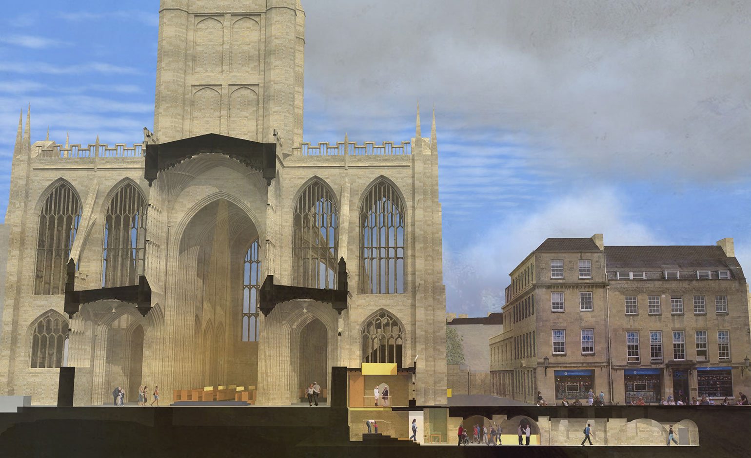 Abbey's Footprint project receives £200k boost from local philanthropist | Bath Echo