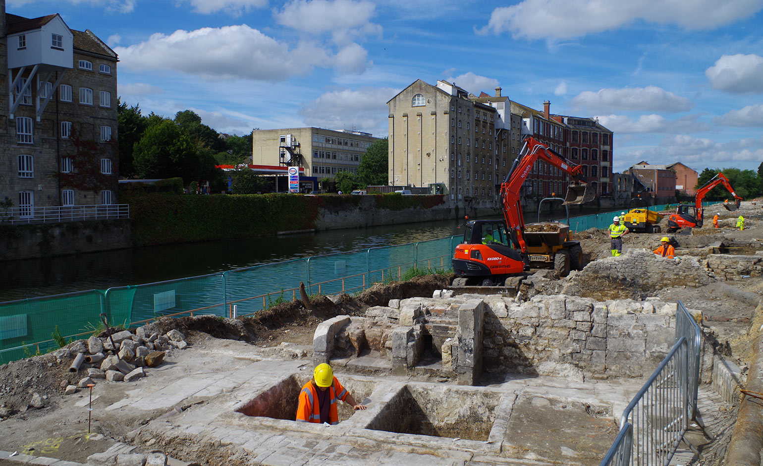 archaeological discoveries made at bath quays site to be revealed at upcoming talk bath echo. Black Bedroom Furniture Sets. Home Design Ideas