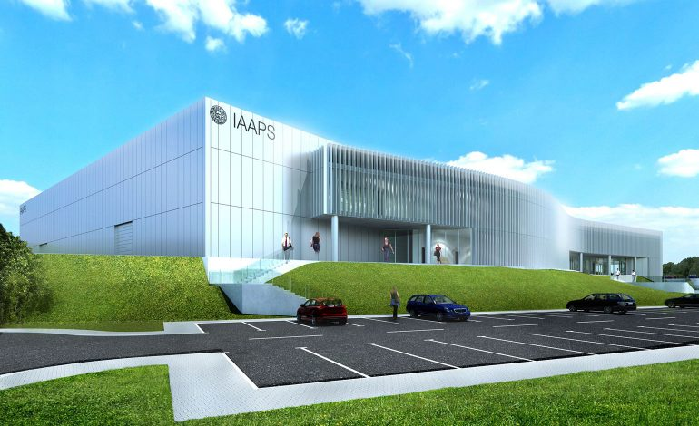 A render of the proposed IAPPS facility