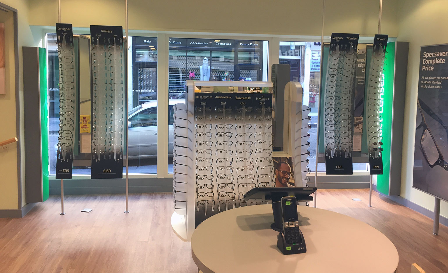 specsavers store on westgate street undergoes complete £