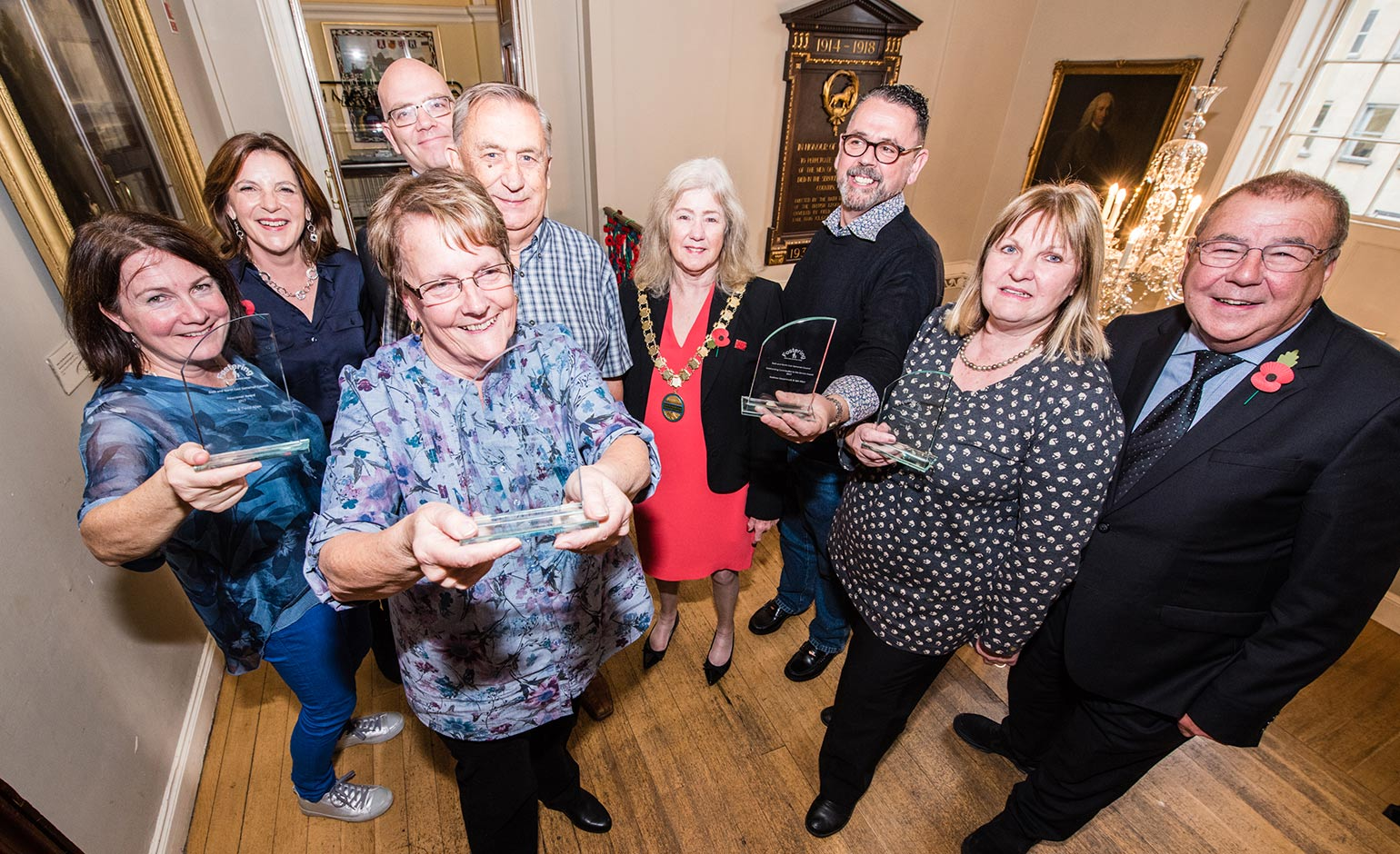 Fantastic foster carers celebrated at special awards ceremony in Bath