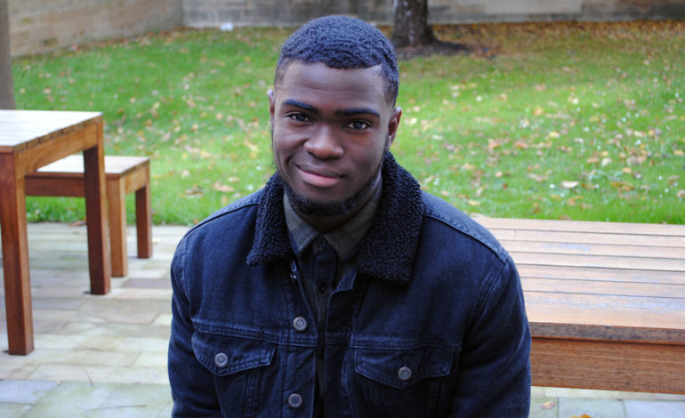 College student receives award for making a difference during work experience