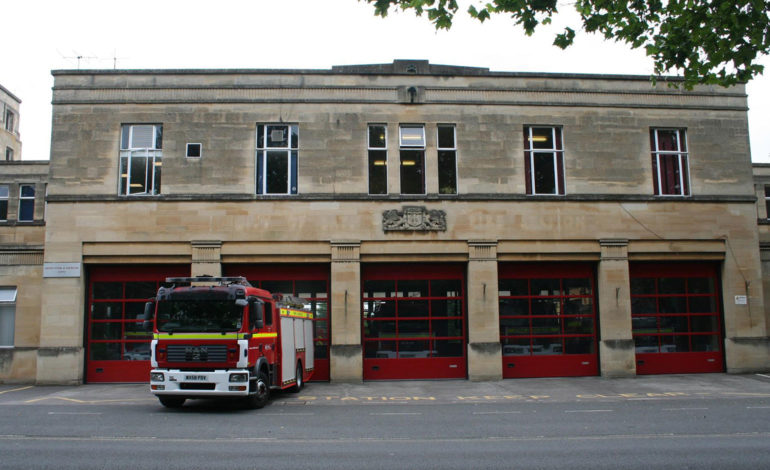 Bath Fire Station - Photo courtesy of Avon Fire & Rescue Service