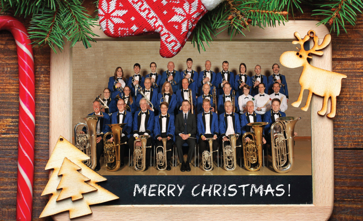 Bath Spa Band to hold Christmas Concert at St Michael's Without in Bath