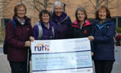Hadrian's Wall trek raises almost £9,000 for RUH's new Cancer Centre
