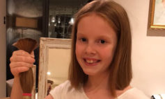 King Edward's School pupil cuts off her hair to donate to charity and raises £600