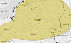 Yellow weather warning for thick fog in Bath issued by the Met Office