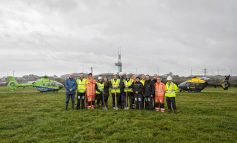Construction begins on new site for police and air ambulance helicopters