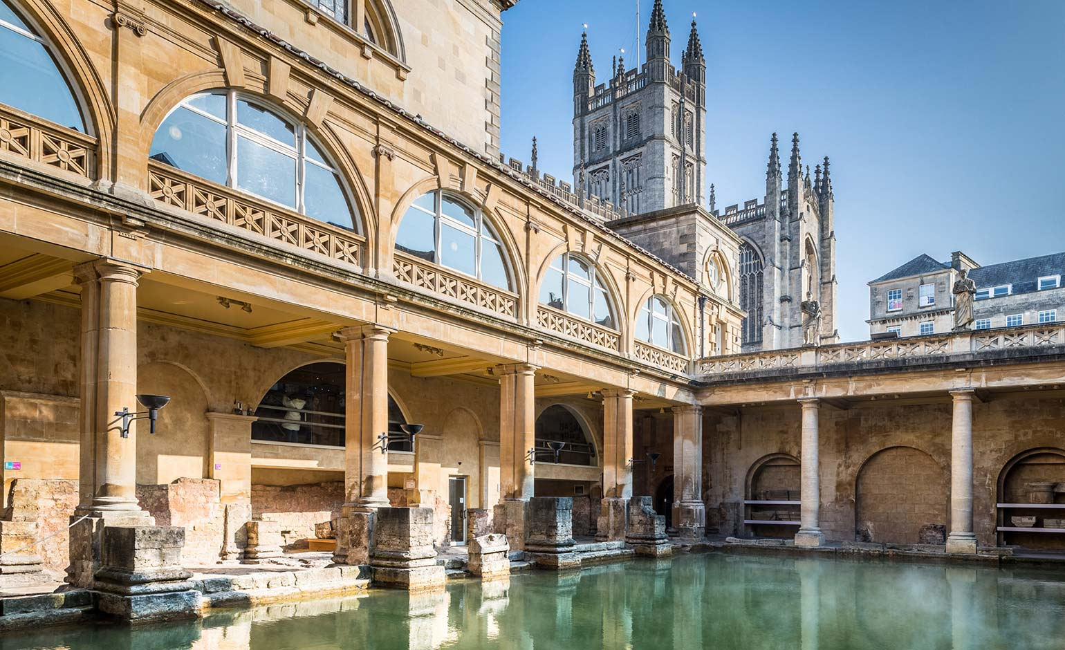 Aspiring poets being invited to help put historic Roman Baths on the map | Bath Echo