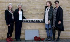 Combe Down paving stones unveiled to honour those who served in WWI