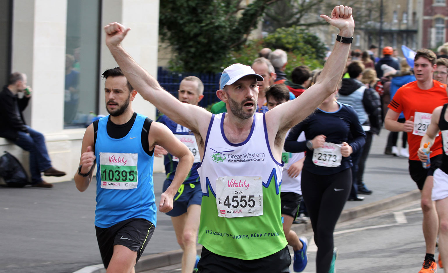 Chance to run Bath Half for local air ambulance charity and help save lives