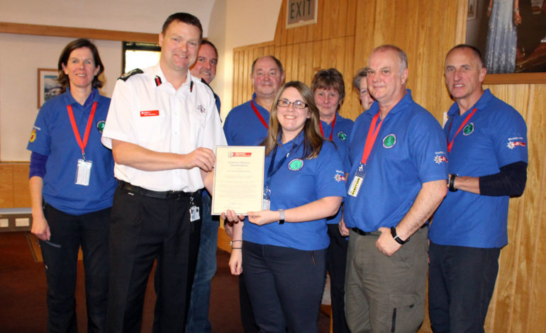 Bath volunteers commended by fire authority for their life-saving actions