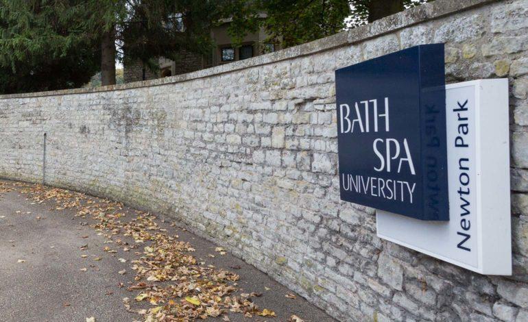 Bath Spa University - Newton Park entrance