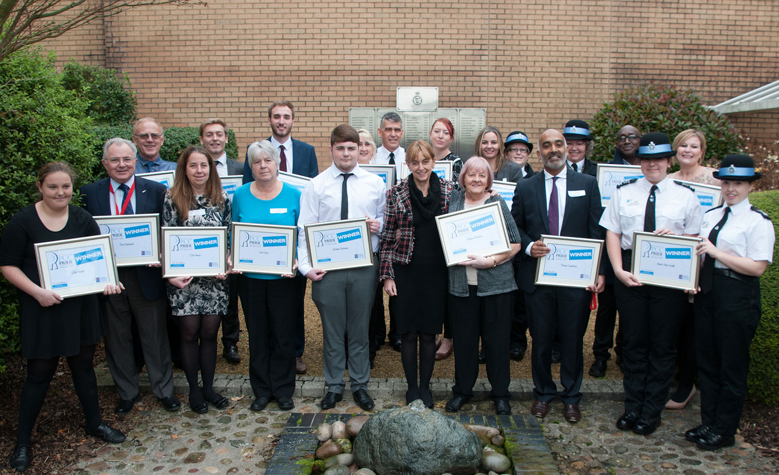 Hardworking and inspirational individuals recognised with PCC Pride Awards