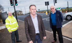 £500k traffic improvement scheme at Two Headed Man junction completed
