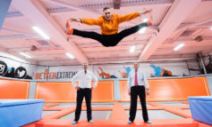 B&NES councillors test out facilities at new trampoline park in Bath