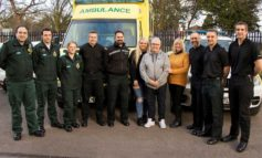 Local man is reunited with police officers and paramedics who saved his life