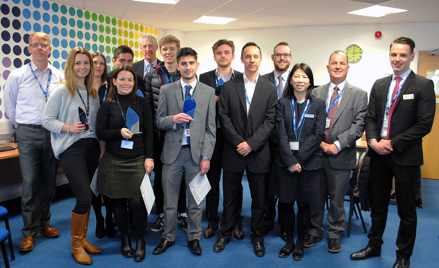 Judges choose winners of Bath College Business and Accounting Challenge