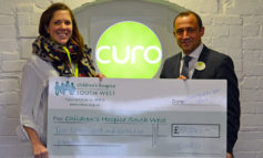 Fundraising partnership with Curo sees over £10k raised for children's hospice