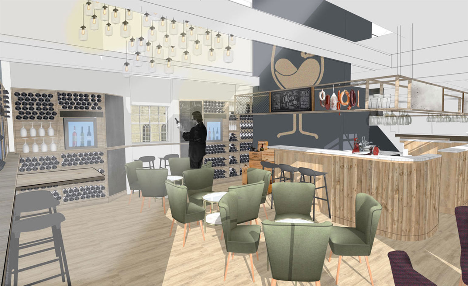 Award-winning wine business 'Le Vignoble' set to open in Milsom Place