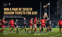 Chance to win season tickets at the Rec in aid of Bath Rugby Foundation