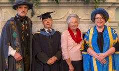 Inspiring Bath Spa Uni Master's student graduates at the age of 88