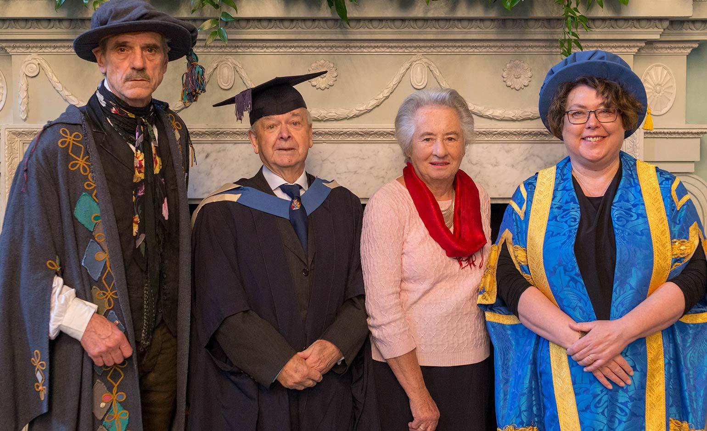 Inspiring Bath Spa Uni Master's student graduates at the age of 88