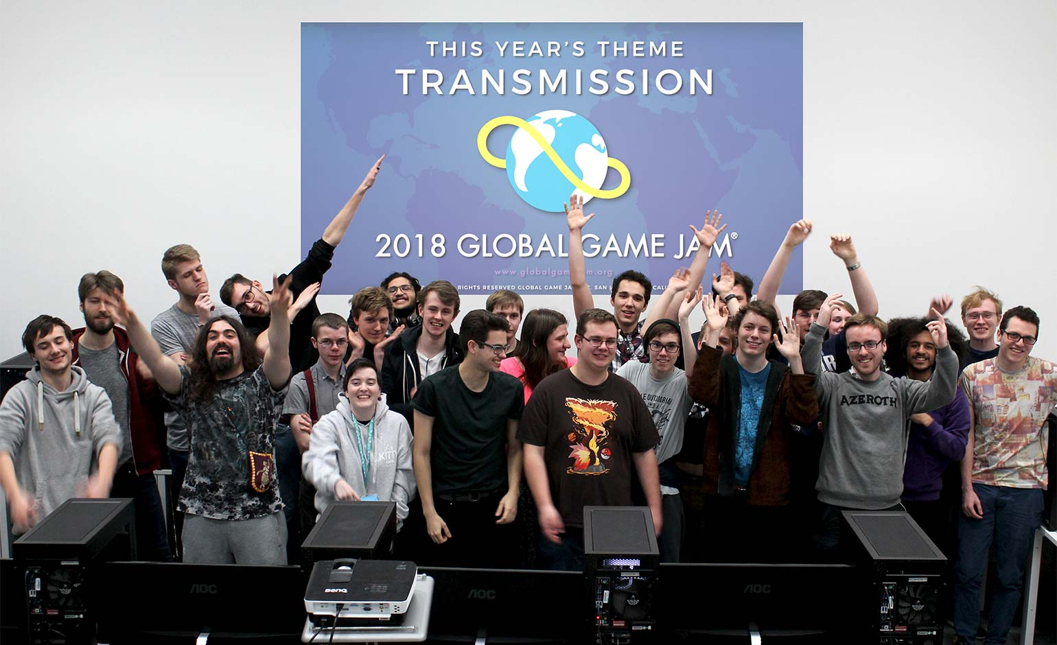 Bath Spa Uni students put their skills to the test for Global Game Jam