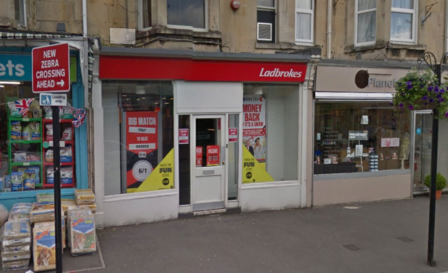 Man arrested by police following robbery at Ladbrokes on Moorland Road