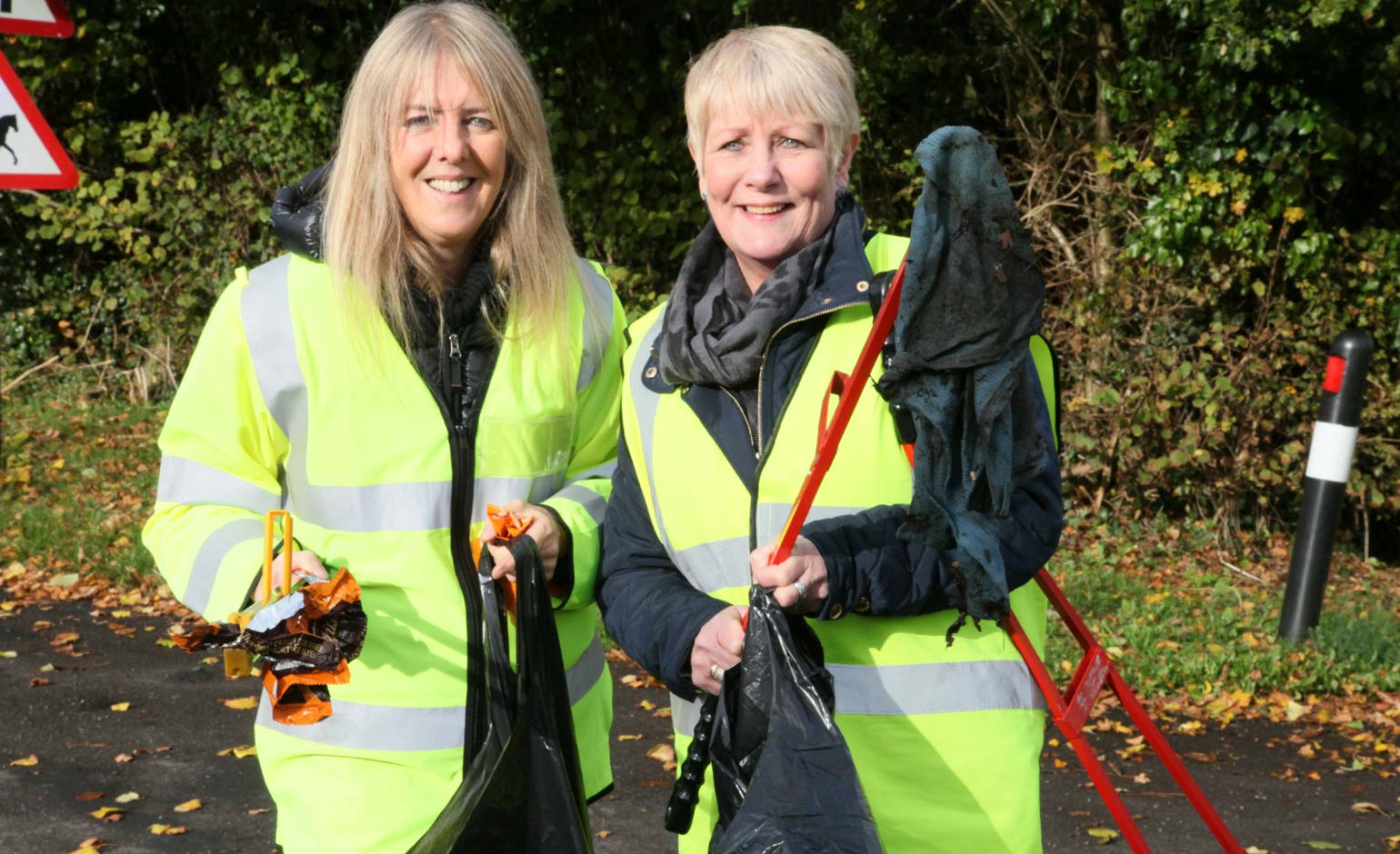 Next community clean up date announced for streets of Peasedown St John