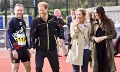 Prince Harry and Meghan Markle cheer on Invictus Games hopefuls in Bath