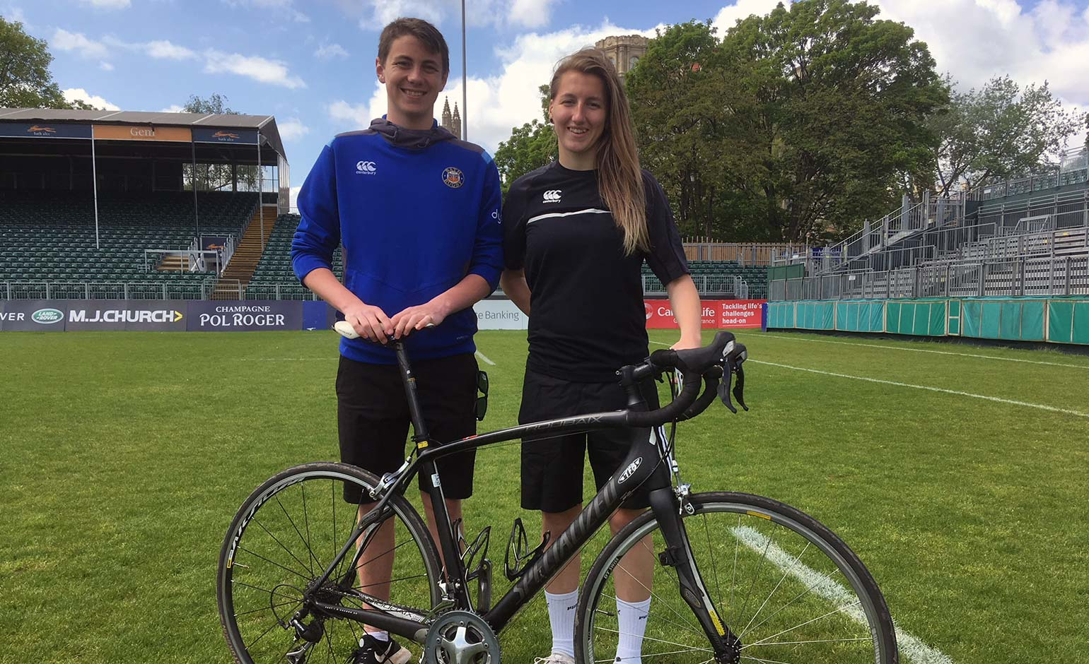 Students to join support crew for Bath Rugby Foundation's cycling adventure